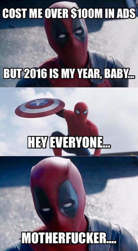 superheroes being super a-holes, superheroes being jerks funny, spider-man deadpool 2016 meme