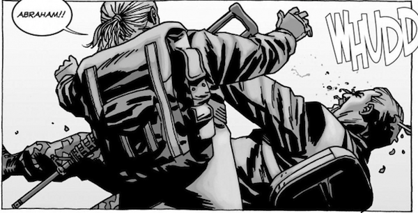 reasons negan killed abraham not glenn or daryl on the walking dead, negan killed abraham, abraham ford, the walking dead, dead in comics