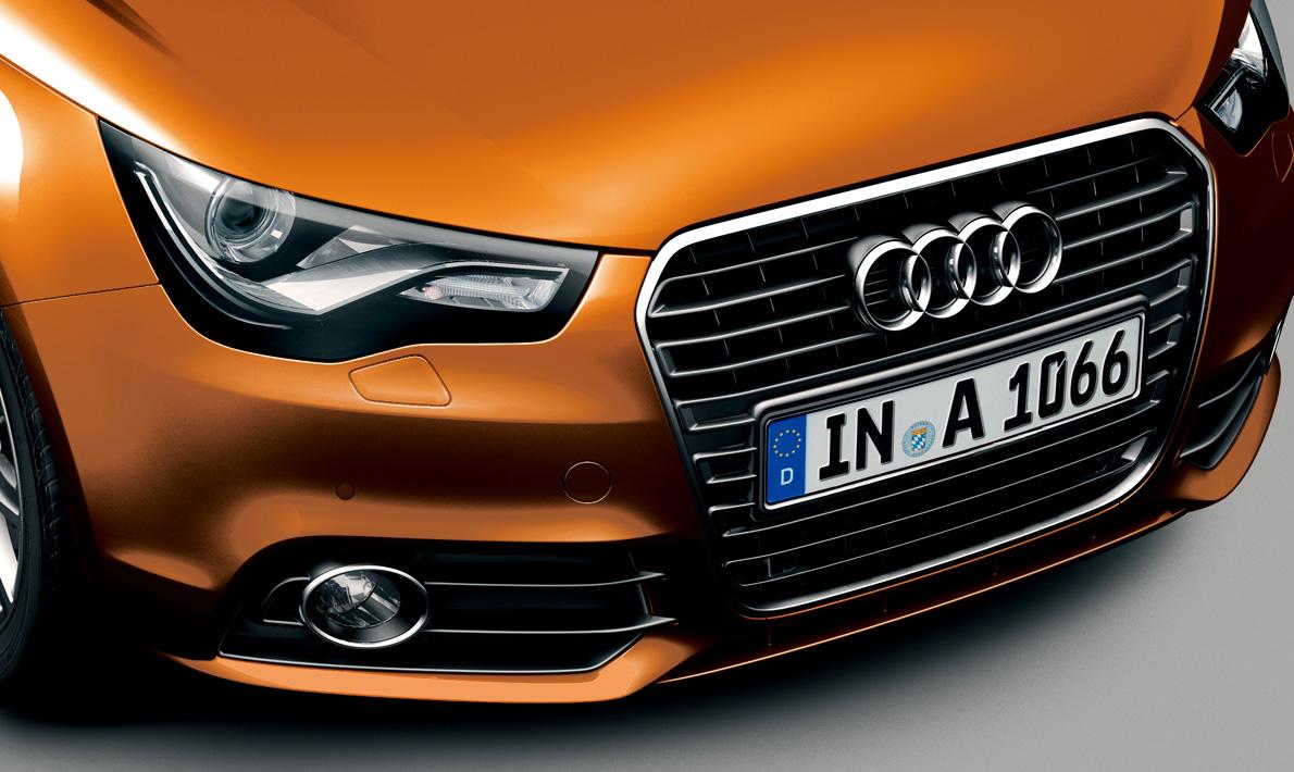 Audi A1 Sportback color selection -
