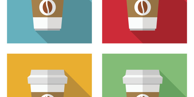 Coffee cup icons - VECTOR