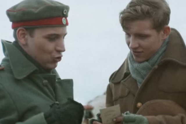 Sainsbury's Christmas advert recreate First World War Christmas Day Truce