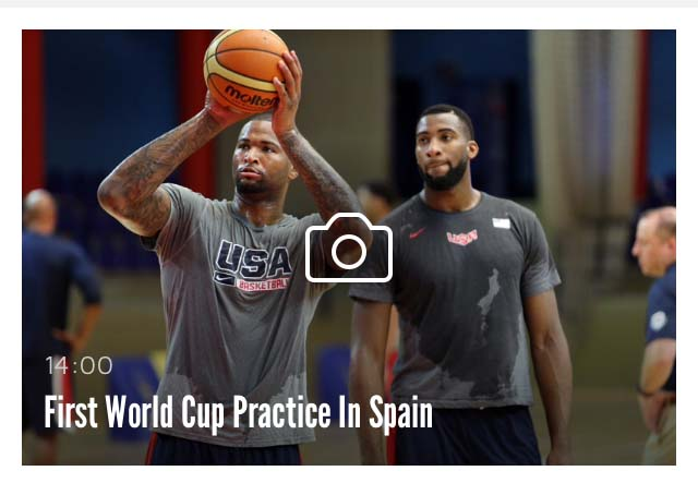 USA Basketball screenshot