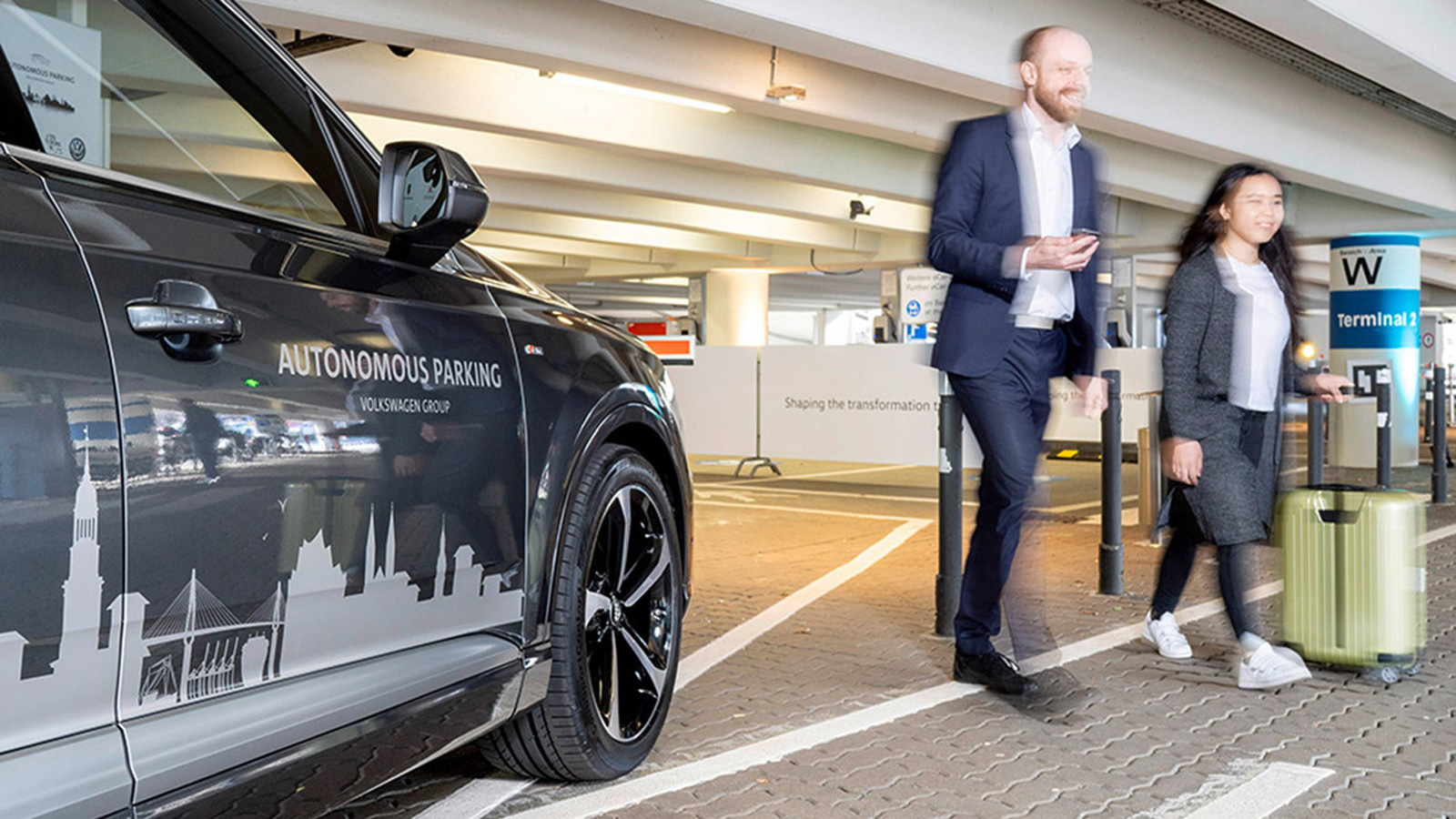 photo image VW will debut cars with autonomous parking in 2020