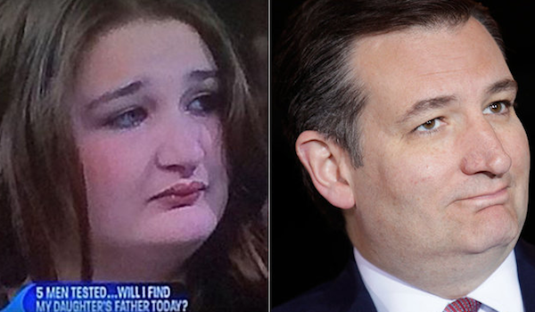 That Ted Cruz Lookalike From 'Maury' Is About To Do Porn For $10,000