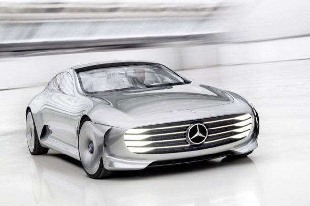 メルセデス・ベンツ、テスラに対抗する高性能EVセダンをパリ・モーターショーで発表か