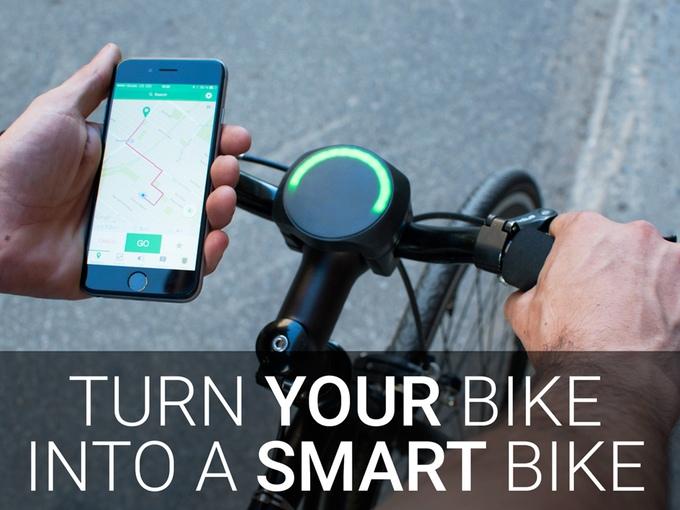 SmartHalo: Fahrrad einfacher smart machen