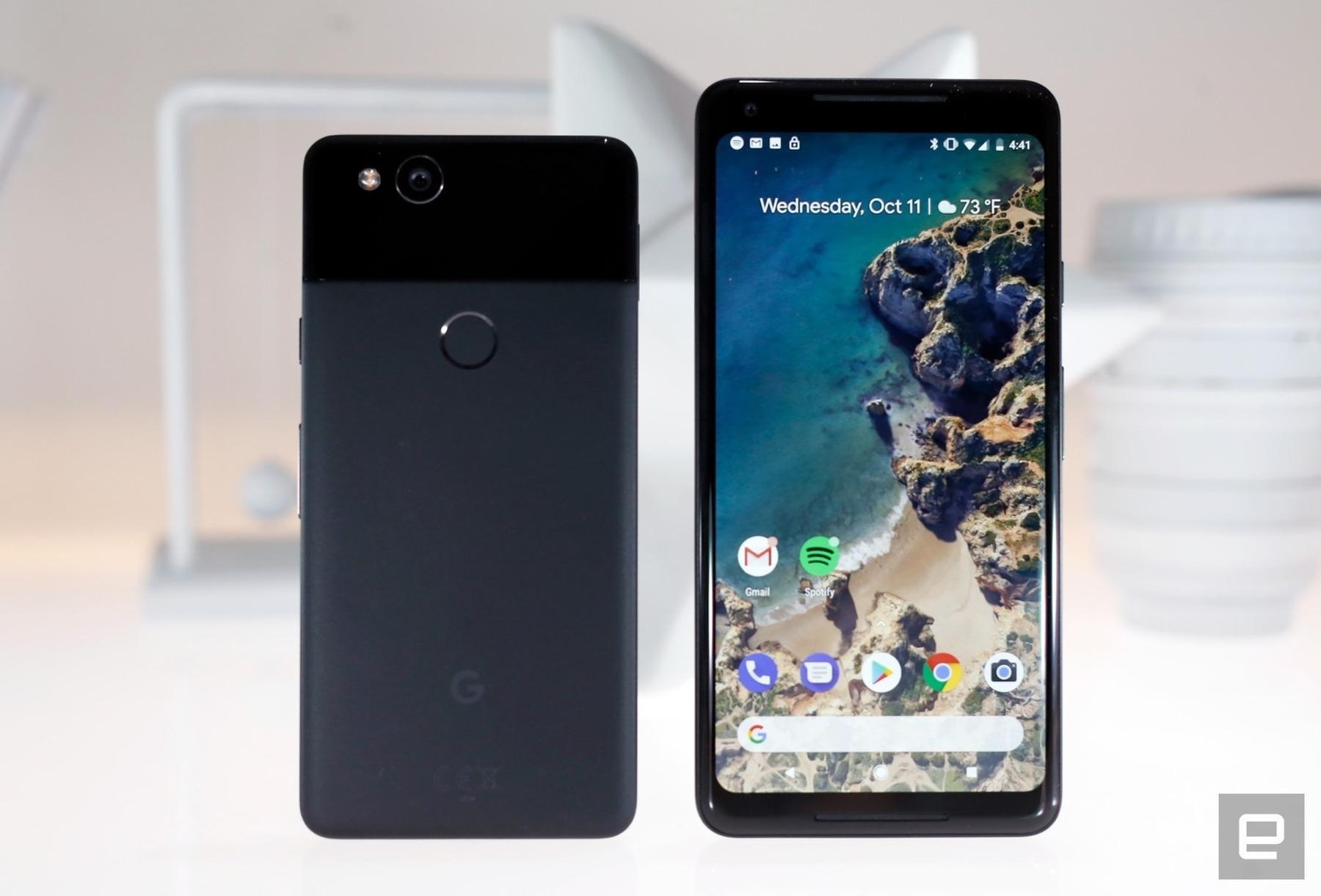 Google responde a los problemas detectados en los nuevos Pixel 2