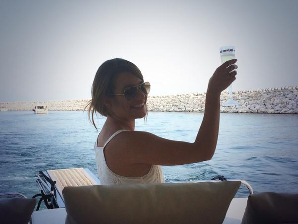 lea michele new boyfriend italy