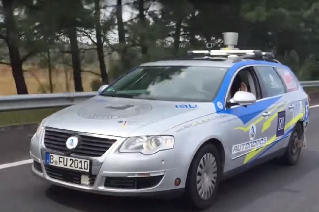 【ビデオ】フォルクスワーゲンの自動運転車がメキシコを2,400km走行