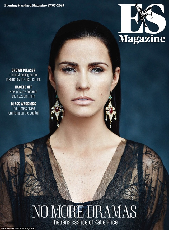 Katie Price wows on cover of ES Magazine