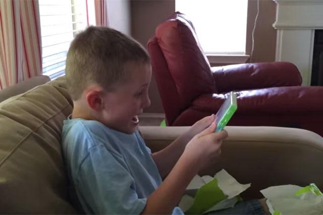 minecraft reaction kid