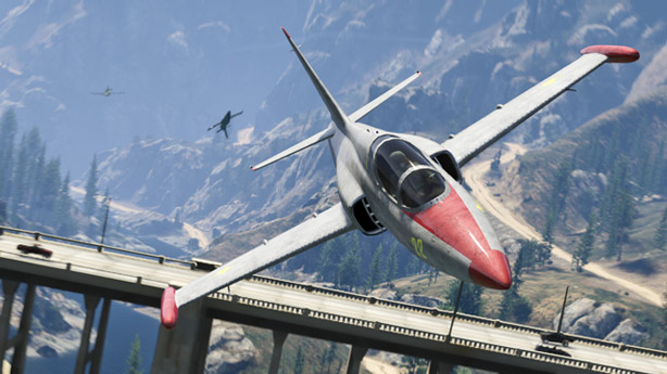 GTA Online's San Andreas Flight School update takes off today