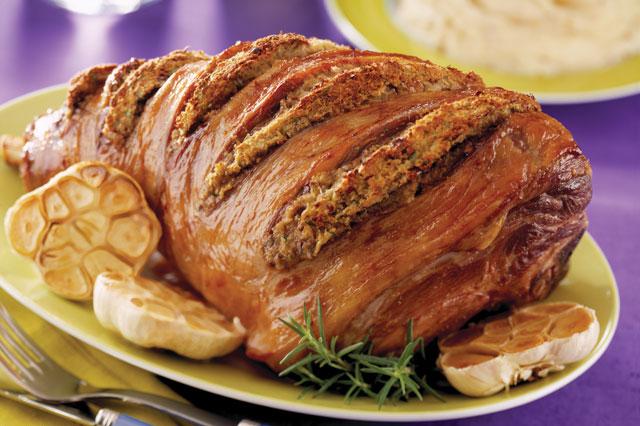 Sunday roast recipe: Lamb with garlic, lemon and rosemary
