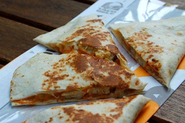 ranking taco bell menu items, quesadilla