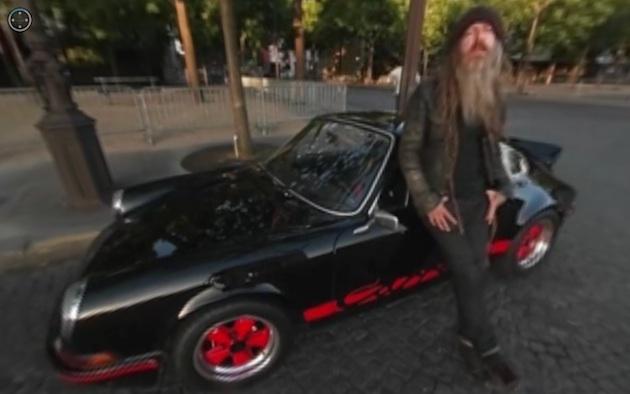 【360度ビデオ】マグナス・ウォーカーと1973年型ポルシェ「911カレラ RS」が、名作短編映画『ランデブー』を再現