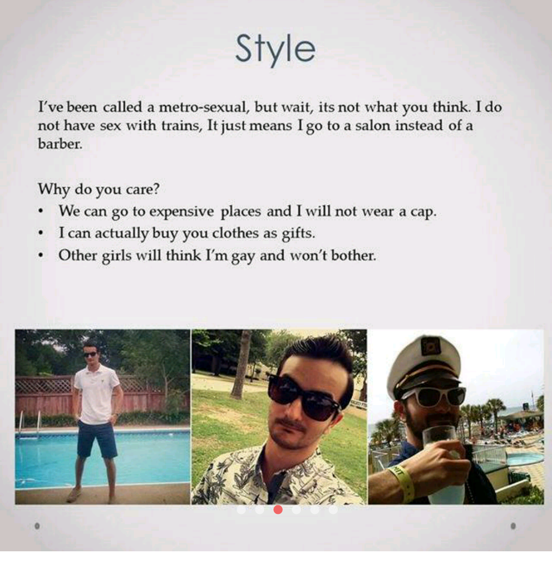 elaborate tinder profile, why you should swipe right