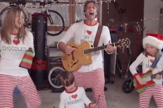 Christmas Jammies family are back with a new festive video