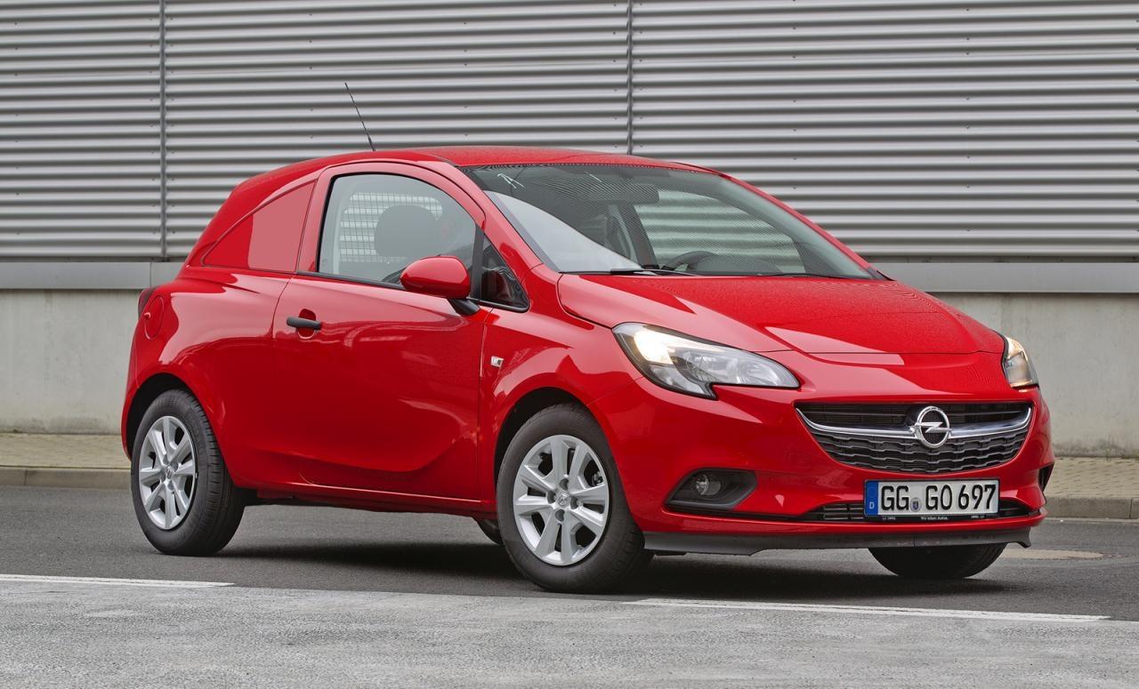 Premiere in Brüssel: Der neue Opel Corsavan
