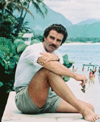 Was Tom Selleck Constantly Hiding An Erection On Magnum, P.I.?, tom selleck dock