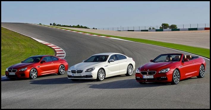 Premiere für BMW 6er Facelift