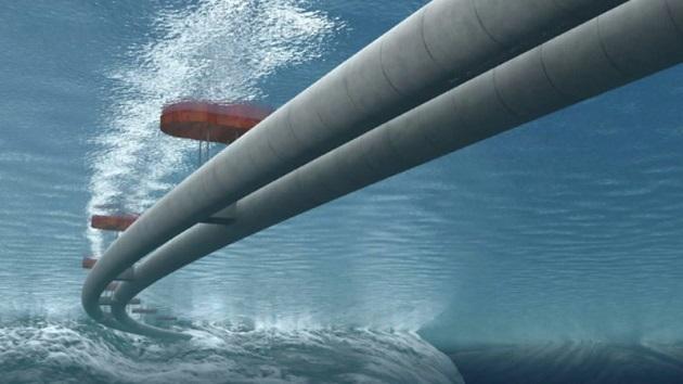 ノルウェー政府、フィヨルドを渡る交通手段として水中にチューブ状の橋を建設予定