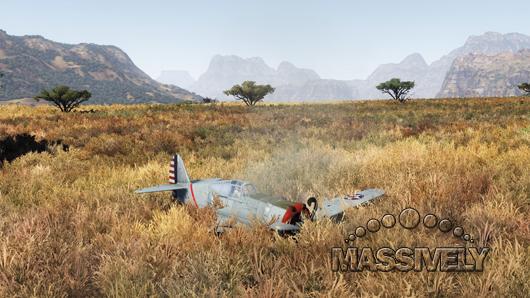War Thunder - Wrecked P36
