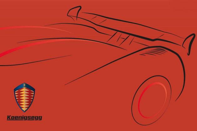 ケーニグセグ、ジュネーブで披露する新スーパーカー「アゲーラRS」 のスケッチを公開