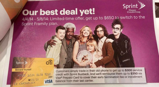 Sprint Framily plan offer