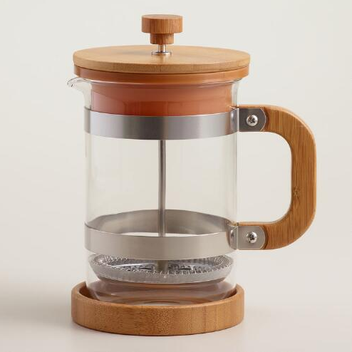 French press coffee maker for hostess gift