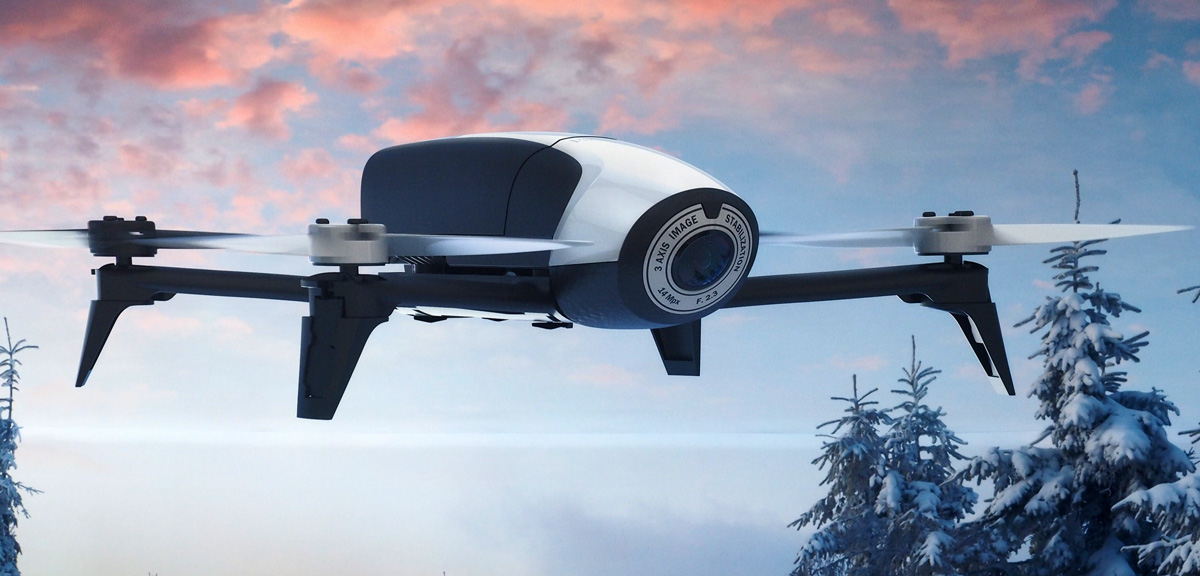 Un drone aterriza accidentalmente en el mayor buque de guerra británico y nadie se entera