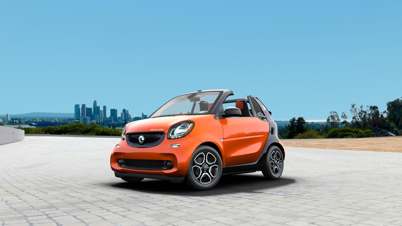 smart USA Fortwo Electric Drive Passion Cabrio