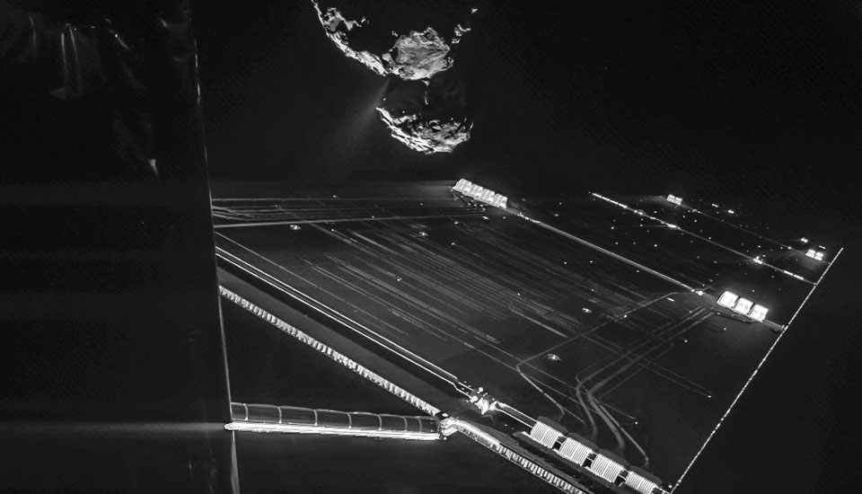 The Big Picture: Philae lander snaps a selfie as it passes by comet