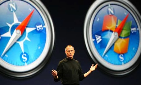 steve jobs windows safari