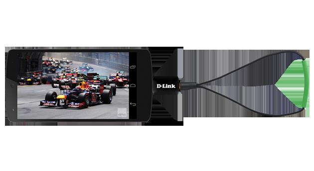 Ya puedes ver la tele en tu dispositivo Android con este mini sintonizador de D-Link