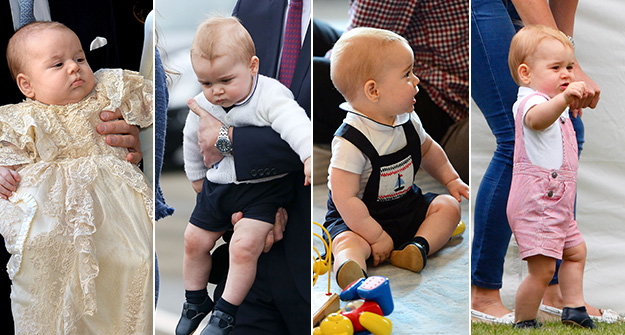 5 times Prince George was a fashion trendsetter this year