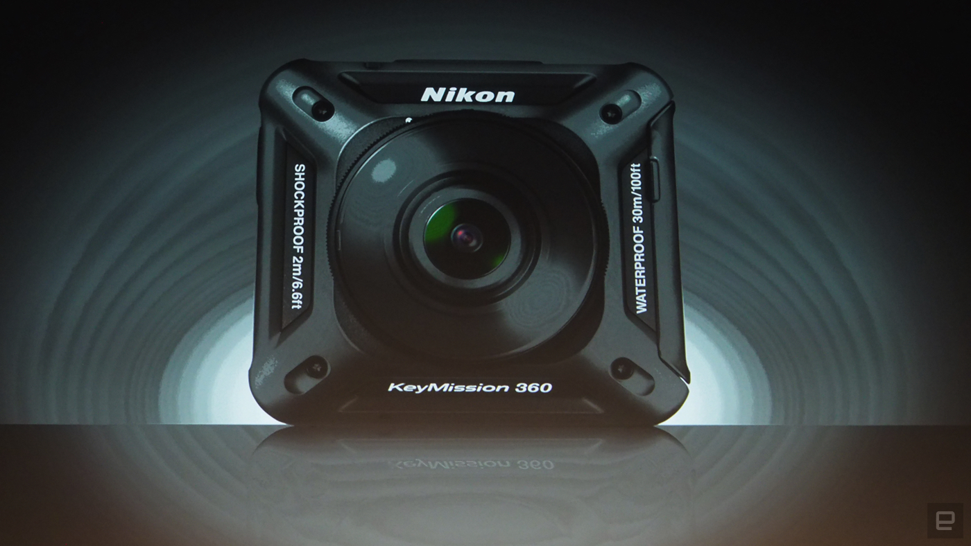 Una más para la acción: Nikon KeyMission 360