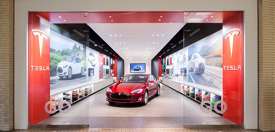 tesla northpark gallery dallas texas