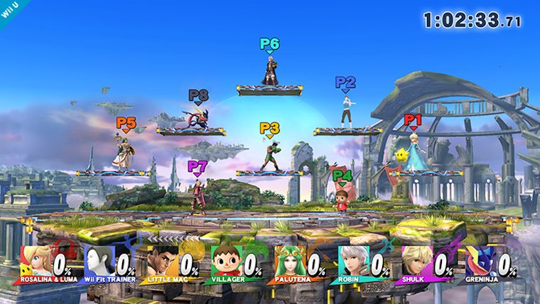 Super Smash Bros. Wii U's 8-Player Smash is super crazy!