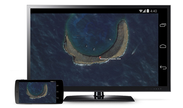Android screen mirroring with Chromecast