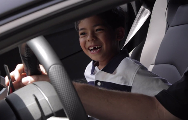 Jacob turns 8 with a surprise Lamborghini-themed birthday