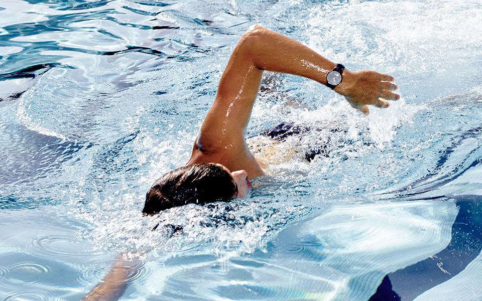 Swimming with Withings' Activite watch