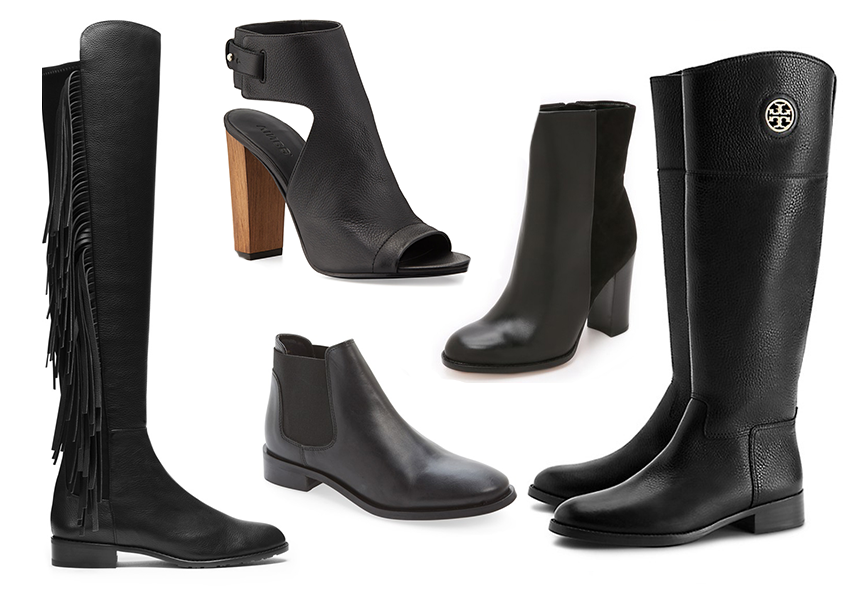 Black boots for every occasion