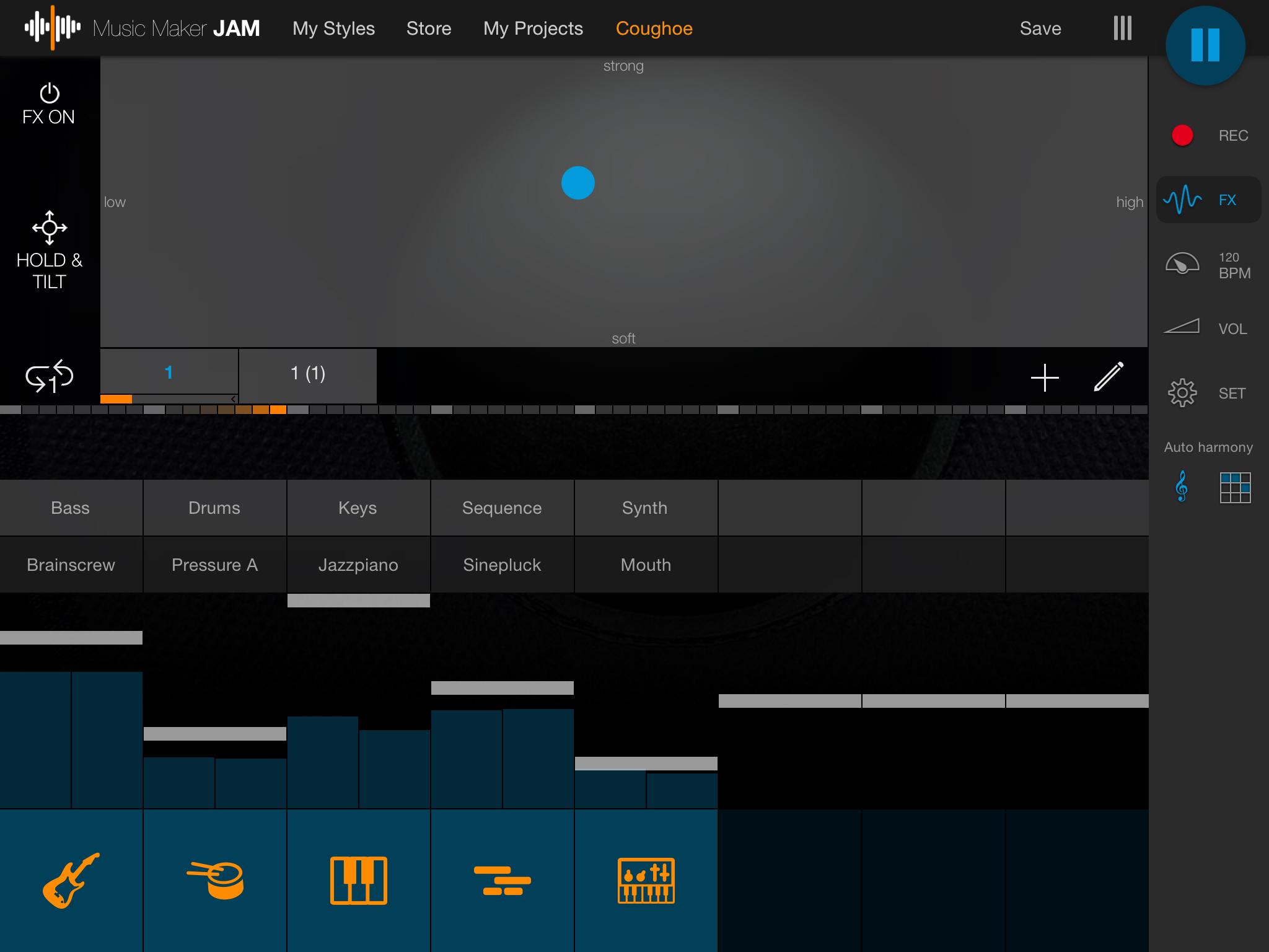 MusicMakerJam screenshot