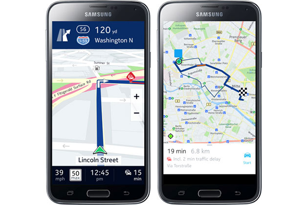Nokia's HERE Maps Comes to Samsung Galaxy Devices