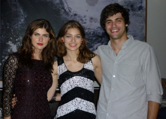Alexandra Daddario and her brother Matthew Daddario