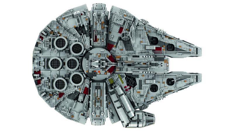 Viel besser wird's nicht: Brandneuer Lego Millenium Falcon