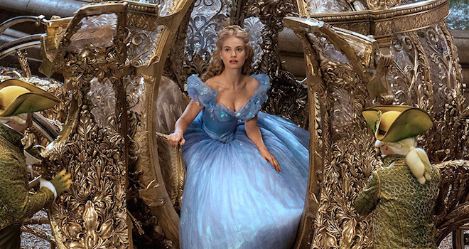 Cinderella Tops Weekend Box Office