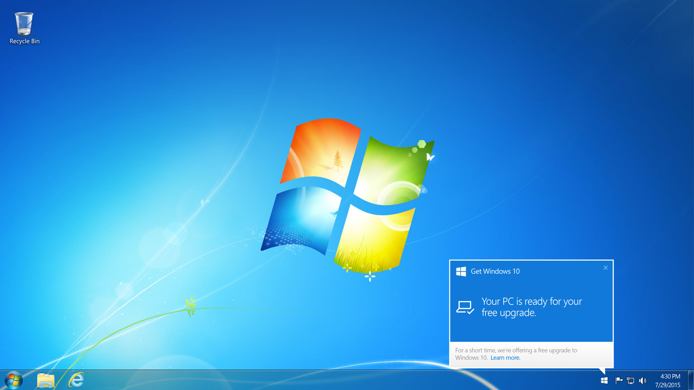 Evita que Microsoft siga molestándote con la actualización a Windows 10