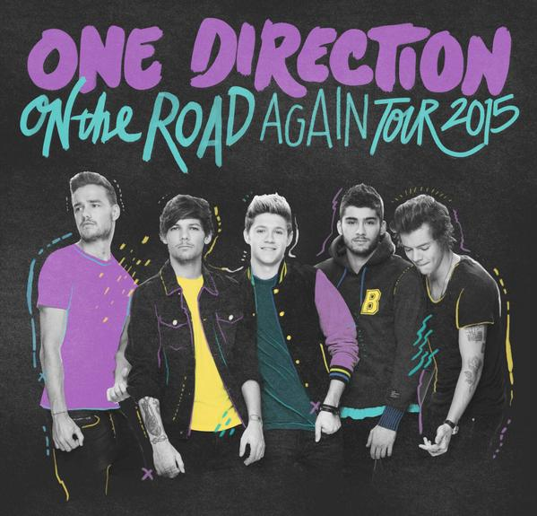 On The Road Again Tour Dates One Direction