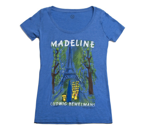 out of print madeline shirt